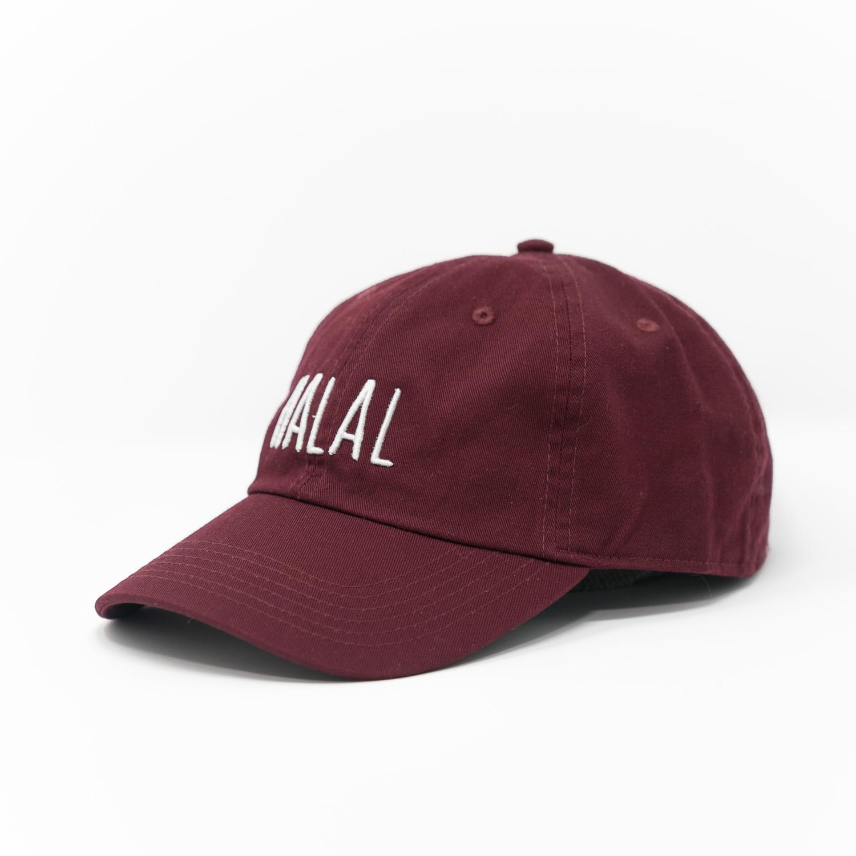 5b827cdc HALAL Dad Hat - Maroon — Atif Ateeq