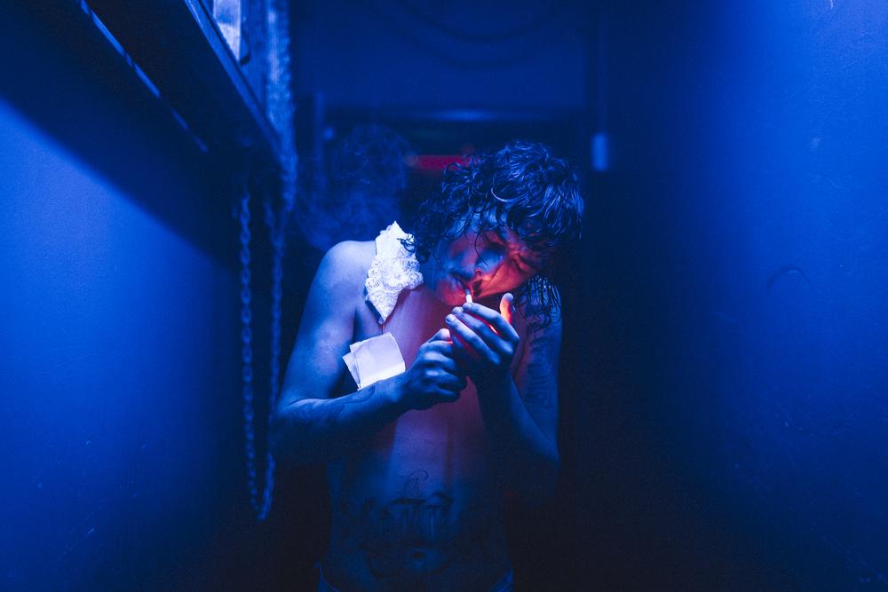 Dylan Frost - Backstage