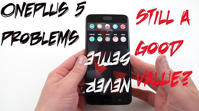 While I love the unique software features of my OnePlus 5, it's not without problems, here are the biggest ones! Link in bio! #oneplus #oneplus5 #android #google #neversettle #video #jelly #youtube #youtuber #youtubers
