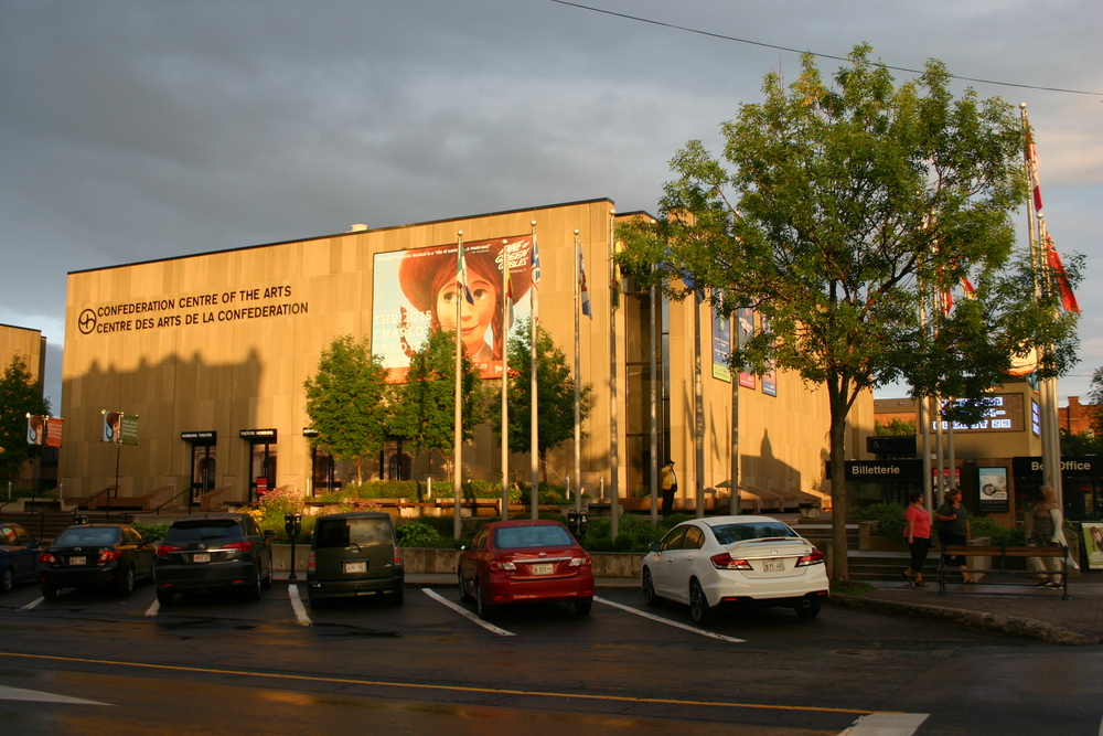 Confederation Centre of the Arts, where Anne of Green Gables is put on.