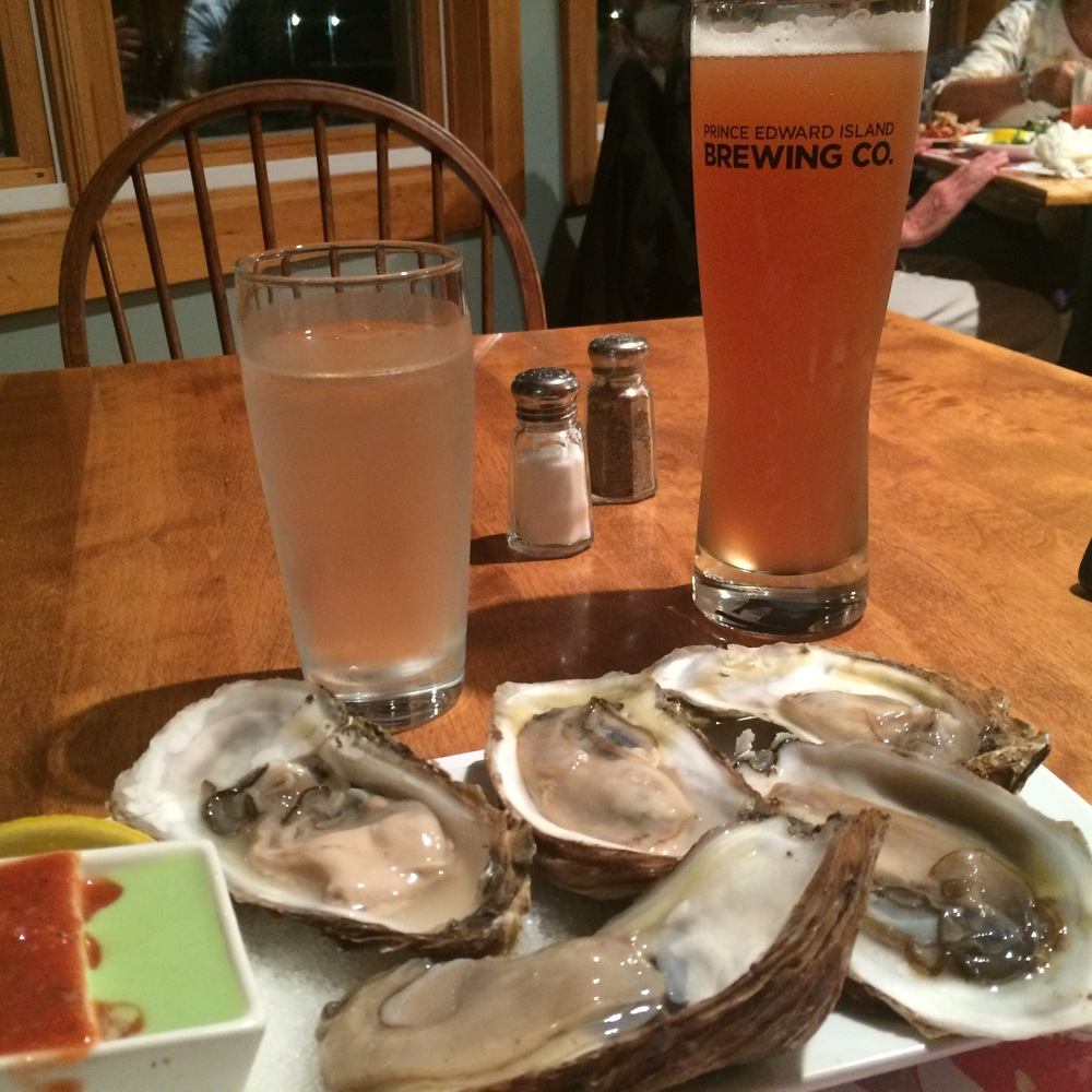 Malpeque oysterys are where it's at!