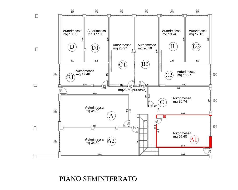 Piano Seminterrato