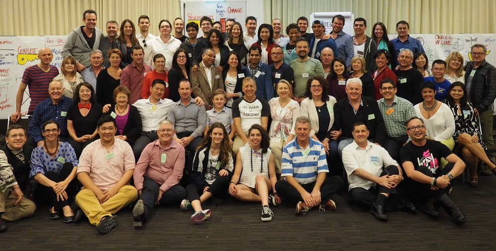Graduating class of Money & You® Sydney, September 2015