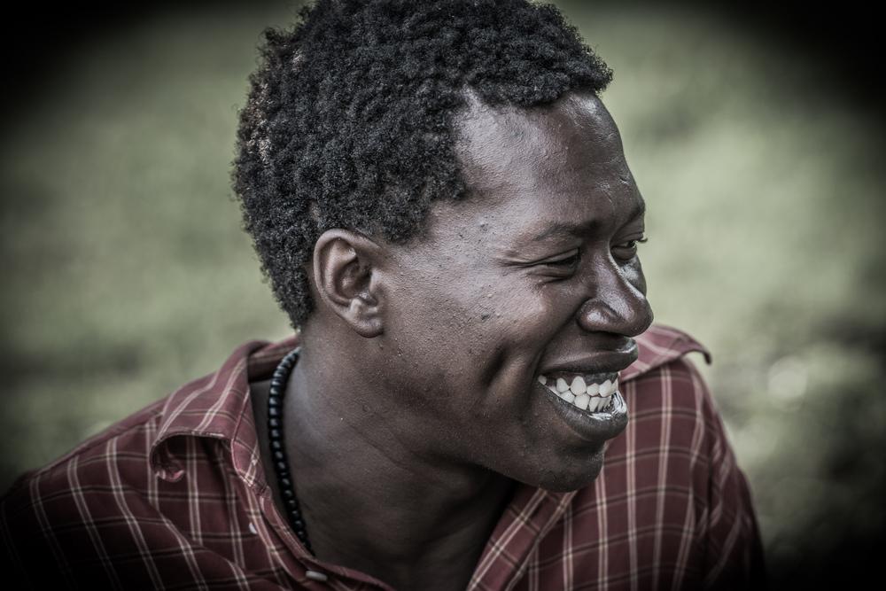 Bongi having a laugh