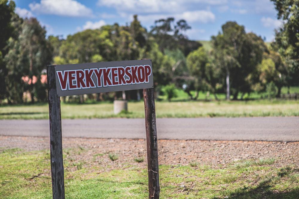 verkykserskop sign post