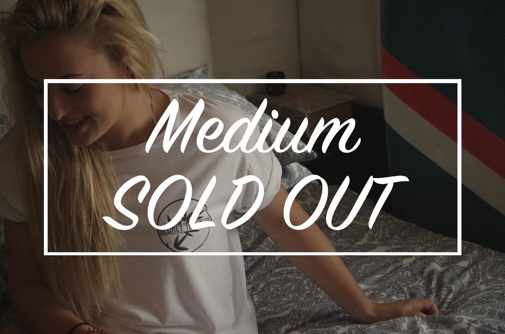 We are now totally sold out of our medium classic logo tee! Would like to say a huge thank you to everyone who has placed an order since we started! Designs have been finalised for the next tee and will be coming your way very soon!