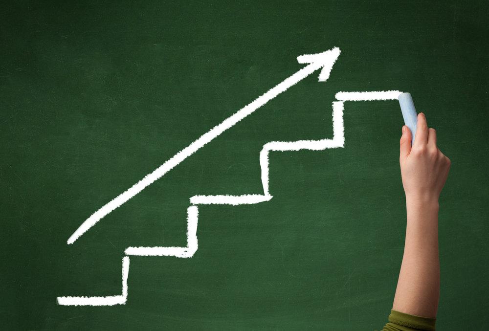 Følg trinnene til programmet for å nå målet.
