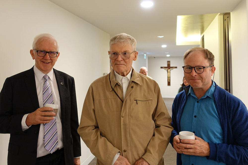 Br John McMahon-Br Arthur Maybon and Stephen Hall