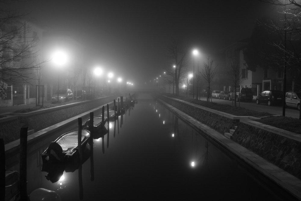 flickr canal at night