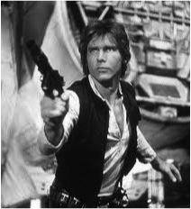 Han Solo BW