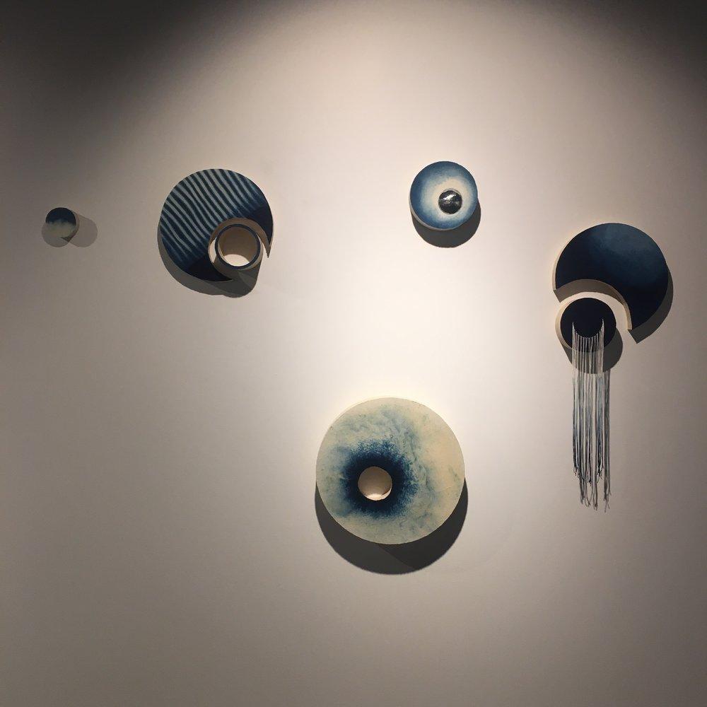 Installation image. Transversing , Webb Gallery QCA, 2016.