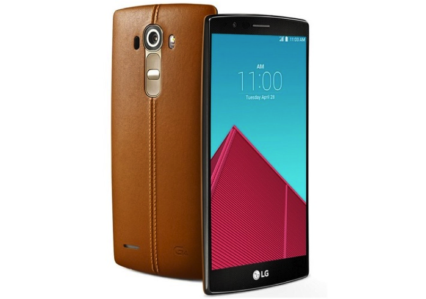 lg g4 phone with leather back