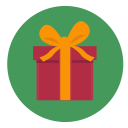 icon of christmas present