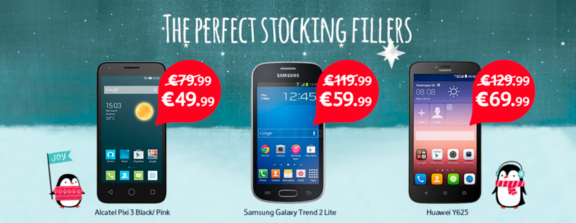 tesco offering free gifts on a range of 4G phones