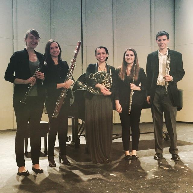 Blazer Wind Quintet.Photo credit Emerita Shore.