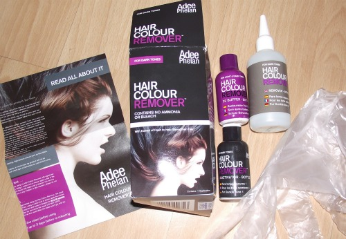 How to remove hair colour at home adee phelan hair colour remover most of the painting at the salon is now done so i feel like i can start taking care of myself again adee phelans hair colour remover solutioingenieria Image collections
