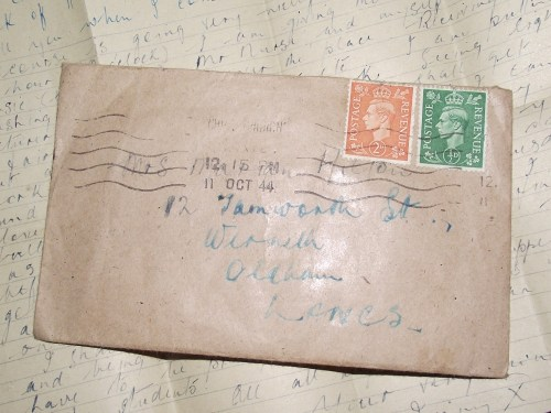sending a letter letters from the 1940s letter number 4 rockalily cuts 1619