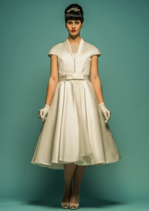 Vintage And Retro Inspired Wedding Gowns 1960s Dresses