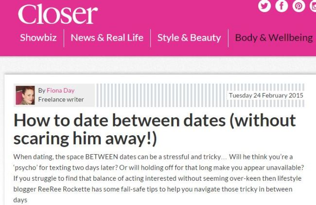 How long between dates dating advice