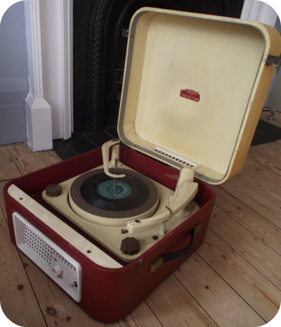 My Vintage Record Player Taking It Apart