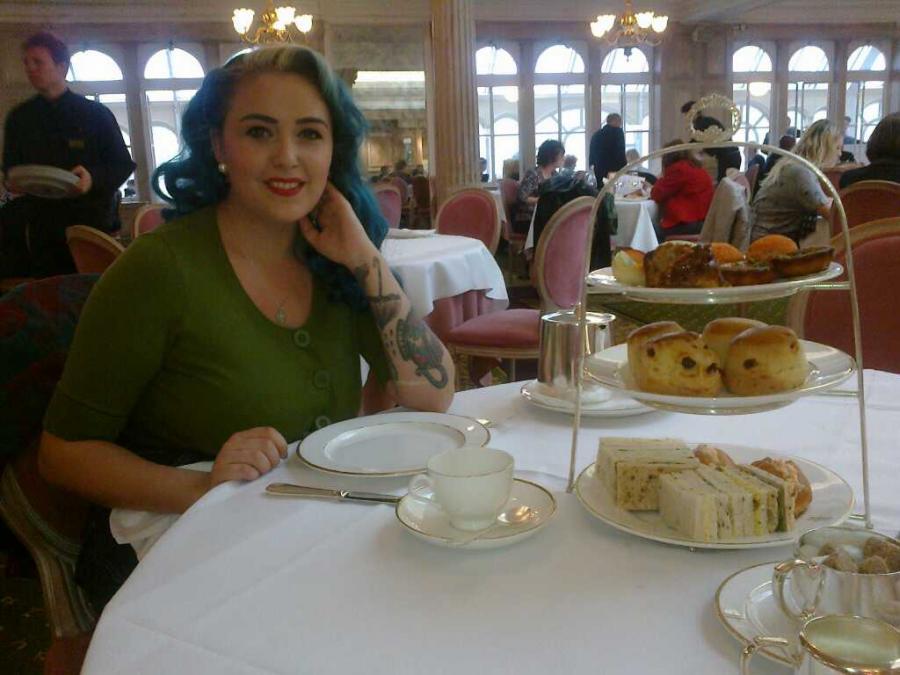 Harrods Tea Room Afternoon Tea