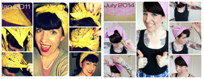 Land Girl Bandana Tutorial