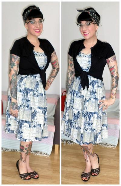 d5bbd0b8faeda5 Rockalily Style - Vintage Style Dress