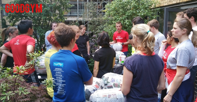 18664bd61dd15e GoodGym - Pills for Pride in Tower Hamlets