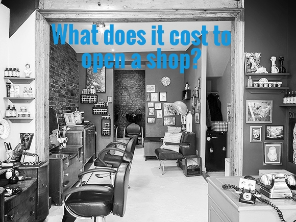what does it cost to open a shop