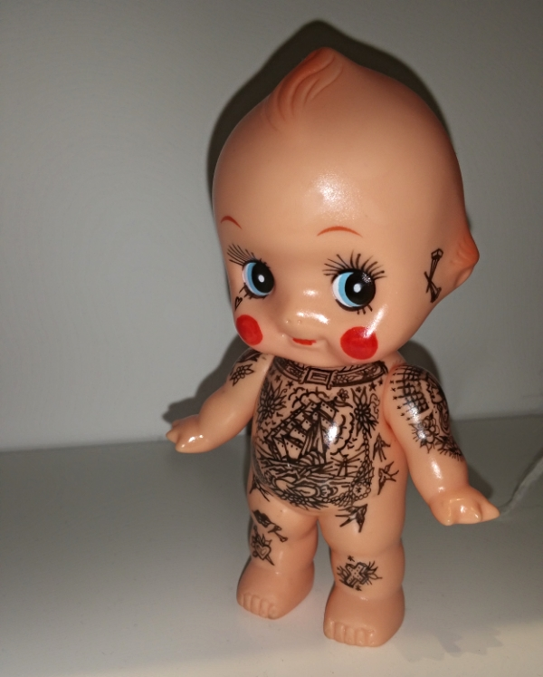 things and ink kewpie