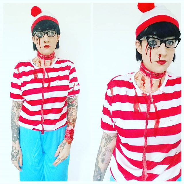 wheres wally they found him my halloween costume