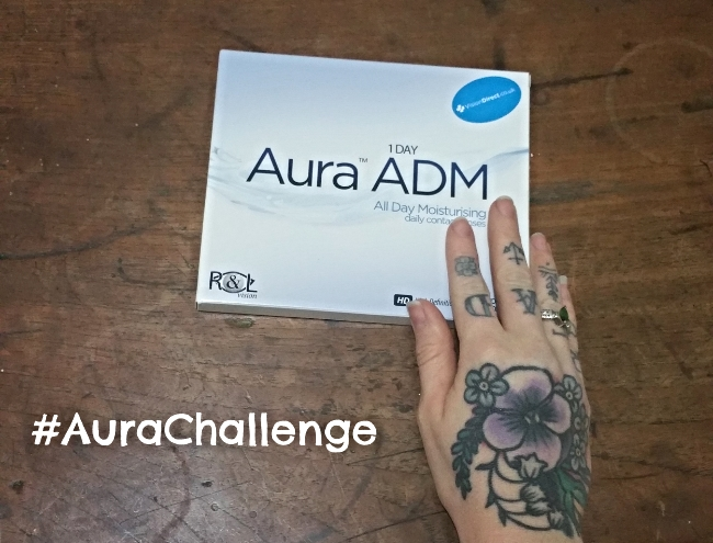 monthly contact review aurachallenge
