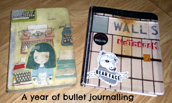 a year of bullet journalling
