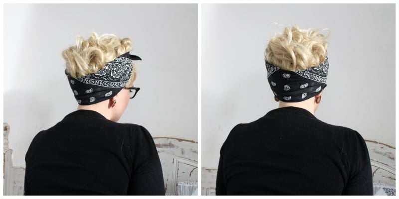 how to tie a rockabilly bandana 2016