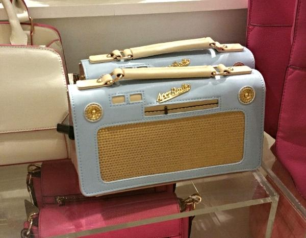 radio handbag
