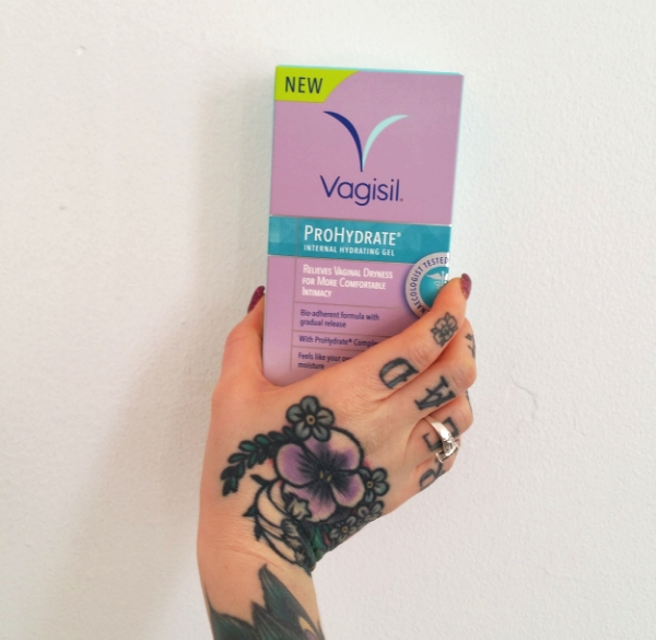 The Vagisil ProHydrate range is available at Boots and Superdrug