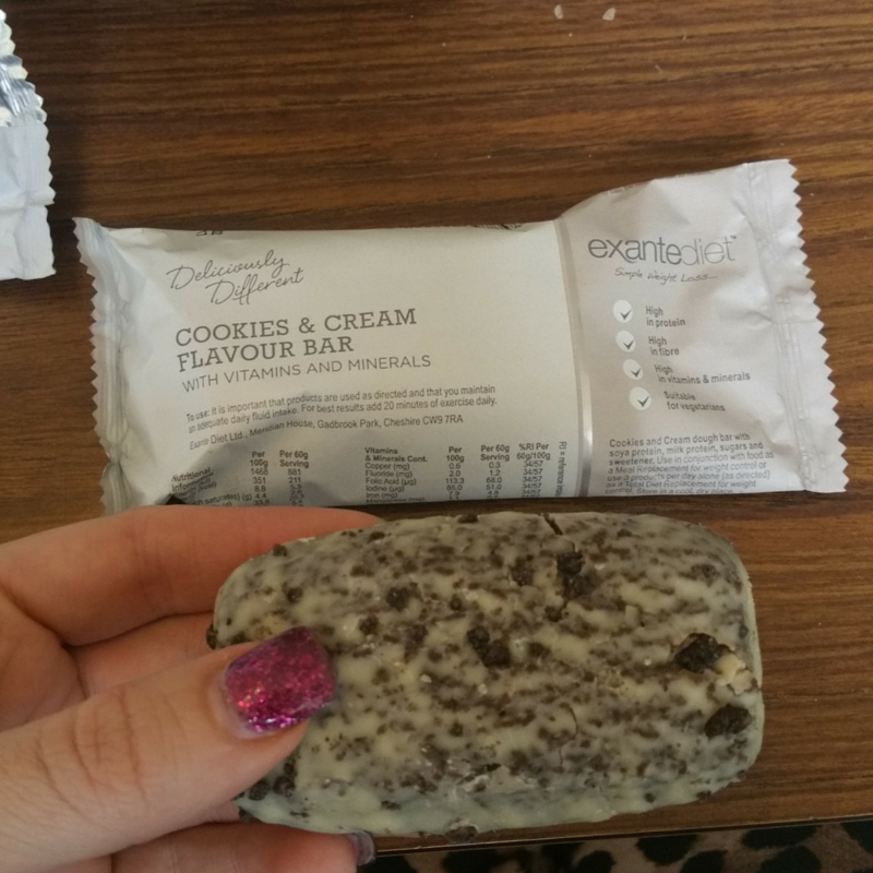 cookie diet bar review