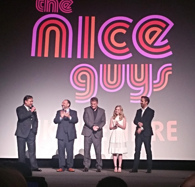 nice guys movie premiere