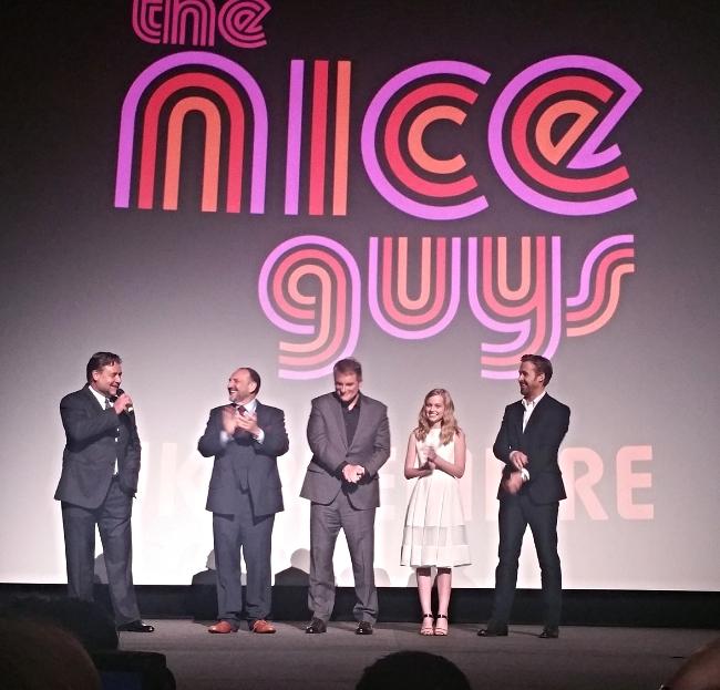 nice guys movie premiere