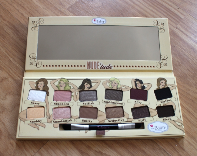 the balm nudetude pallette