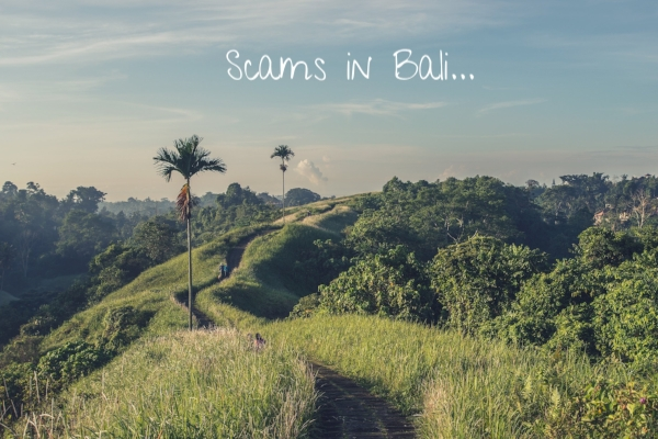 scams in bali