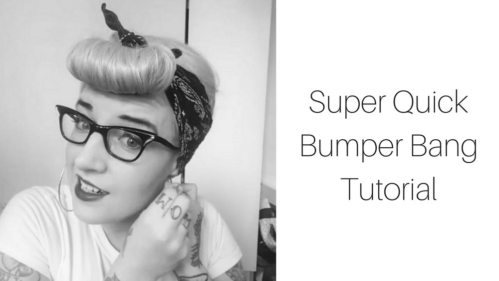 rockalily bumper bang tutorial