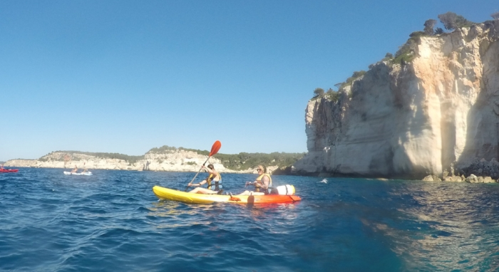kayaking in spain