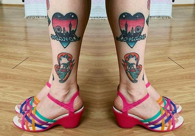 leg tattoos 2017