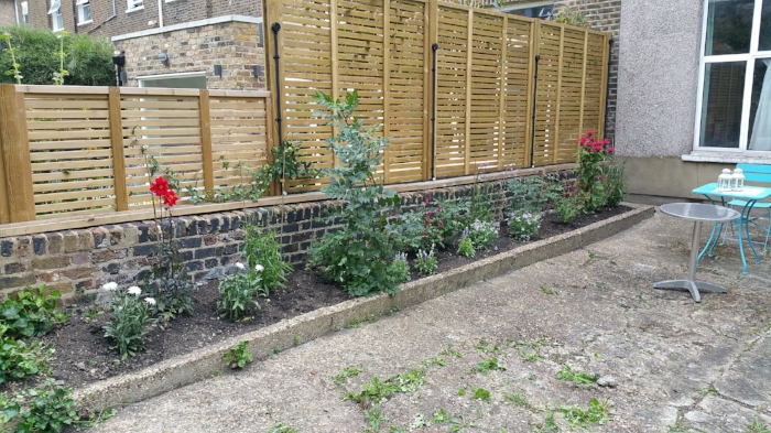 reeree garden make over