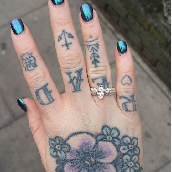 do knuckle tattoos last