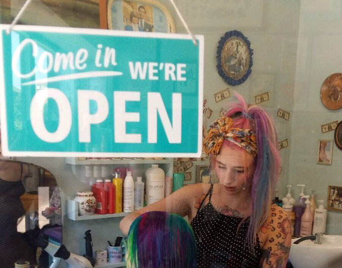 cutest hair salon