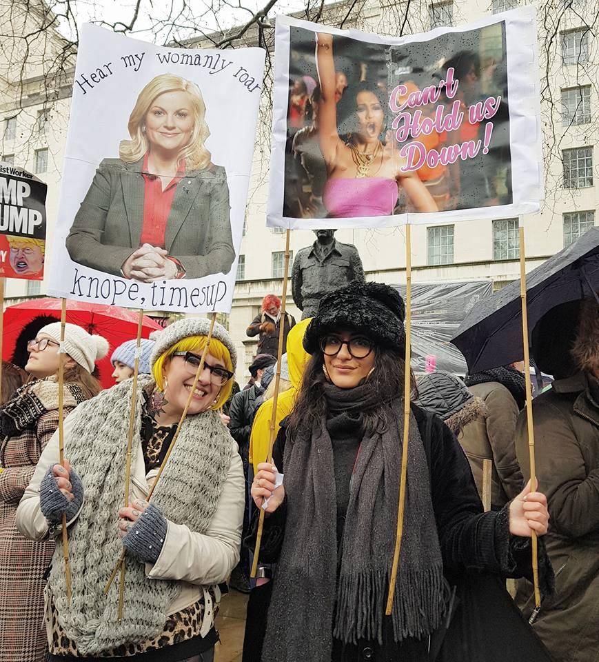 womens march london 2018