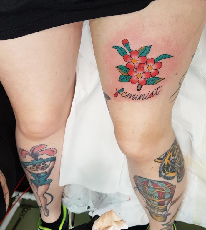 feminism tattoo