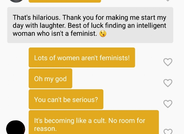 bad bumble messages